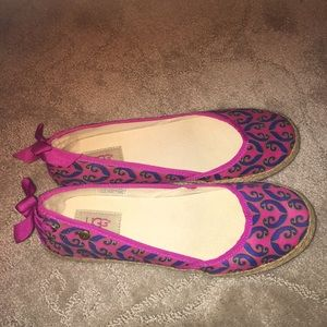 UGG patterned slippers